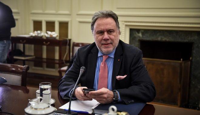 Ο υπουργός Εξωτερικών Γιώργος Κατρούγκαλος