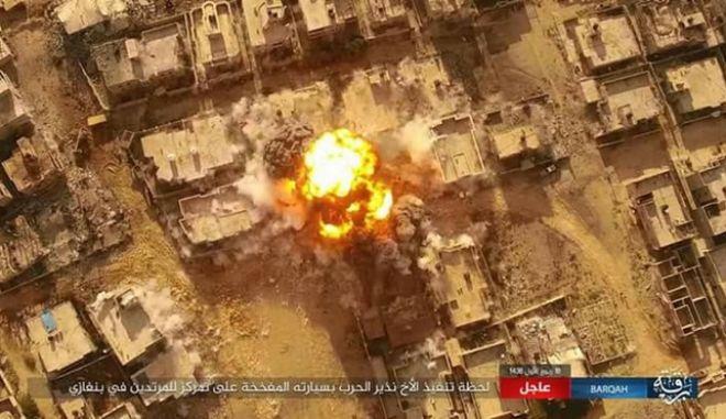 Λιβύη: Βομβιστής αυτοκτονίας σκότωσε επτά άτομα στη Βεγγάζη