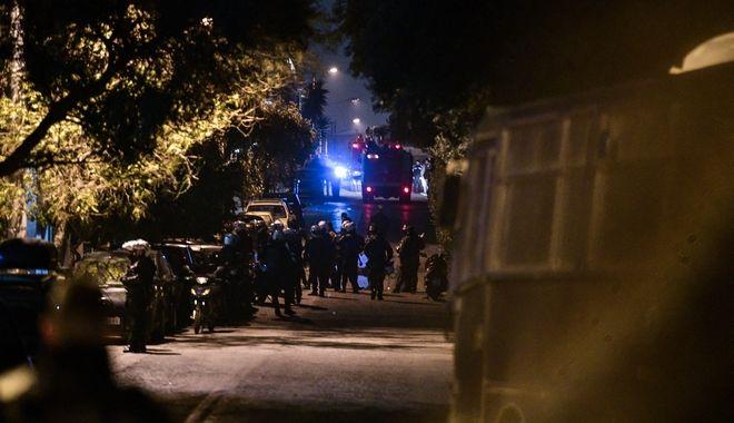 Αστυνομική επιχέιρηση για την εκκένωση της ανακατάληψης στην οδό Παναιτωλίου στο Κουκάκι, το Σάββατο 11 Ιανουαρίου 2020. (EUROKINISSI/ΤΑΤΙΑΝΑ ΜΠΟΛΑΡΗ)