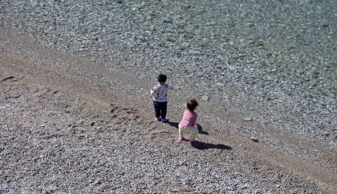 Η παραλία της Αρβανιτιάς στο Ναύπλιο
