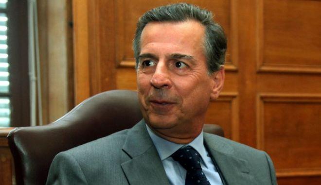 Στιγμιότυπο από την συνεδρίαση της Εξεταστικής Επιτροπής της βουλής για την υπόθεση της SIEMENS.Εξέταση μαρτύρων,Μιχάλης Λιάπης ,Πέμπτη 15 Ιουλίου 2010  (EUROKINISSI / ΓΙΑΝΝΗΣ ΠΑΝΑΓΟΠΟΥΛΟΣ)