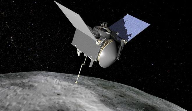 Το σκάφος Osiris-REx της NASA ανακάλυψε ενδείξεις νερού στον αστεροειδή Μπενού