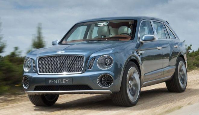 Το πρώτο SUV της Bentley θα είναι και το πρώτο υβριδικό της βρετανικής φίρμας