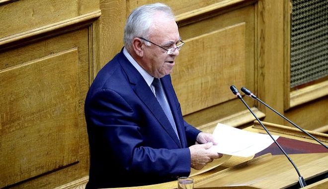 """Συζήτηση και ψήφιση των άρθρων και του συνόλου του σχεδίου νόμου: """"Επενδύω στην Ελλάδα και άλλες διατάξεις"""" στην Ολομέλεια της Βουλής την Πέμπτη 24 Οκτωβρίου 2019. (EUROKINISSI/ΓΙΑΝΝΗΣ ΠΑΝΑΓΟΠΟΥΛΟΣ)"""