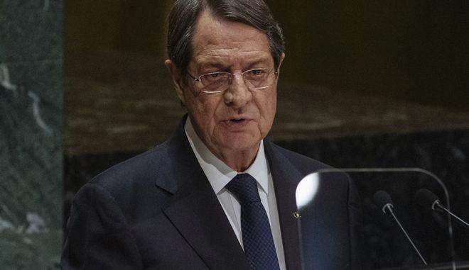 Ο Νίκος Ανστασιάδης.