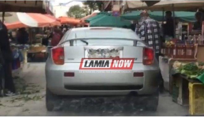 Απίστευτο παρκάρισμα στη Λαμία
