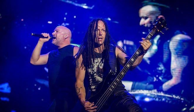 "Release Athens Festival 2019: Οι Disturbed ""τάραξαν"" τα νερά του Φαλήρου"