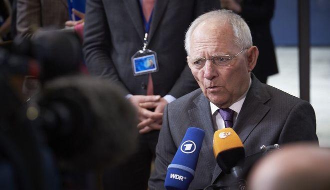 Συνεδρίαση του Eurogroup την Δευτπερα 20 Μαρτίου 2017, στις Βρυξέλλες. (EUROKINISSI/ΕΥΡΩΠΑΪΚΗ ΕΝΩΣΗ)