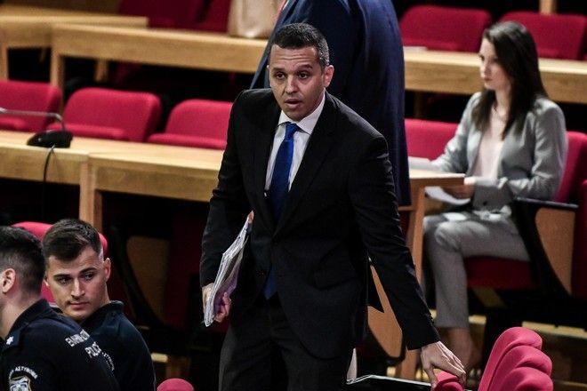 Απολογία του πρώην βουλευτή Ηλία Κασιδιάρη στη δίκη της Χρυσής Αυγής ενώπιον του Τριμελούς Εφετείου Καλουργημάτων