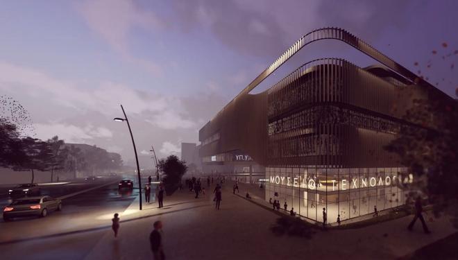 Το νέο φουτουριστικό κτίριο της Γενικής Γραμματείας Υποδομών στην Πειραιώς