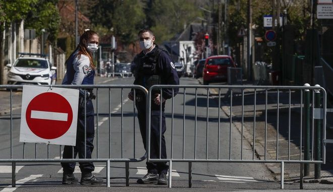 Αστυνομικοί στη Γαλλία (φωτογραφία αρχείου)