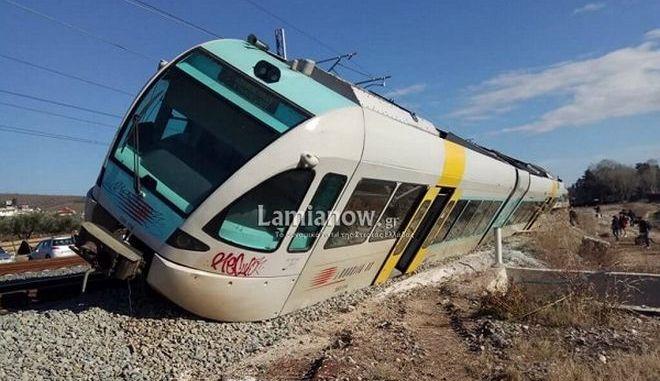 Λιανοκλάδι: Εκτροχιάστηκε τρένο - Περιπέτεια για τους επιβάτες