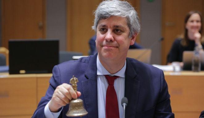 O πρόεδρος του Eurogroup Μάριο Σεντένο