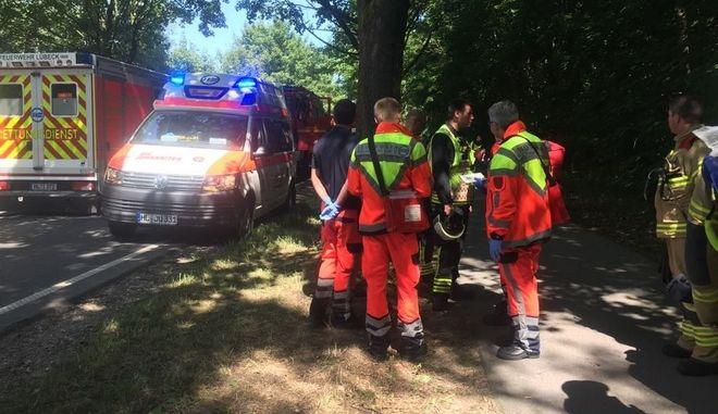 Γερμανία: Επίθεση με μαχαίρι σε επιβάτες λεωφορείου