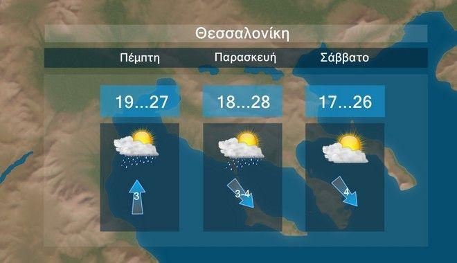 Καιρός: Πτώση θερμοκρασίας από Πέμπτη, αισθητή το Σάββατο