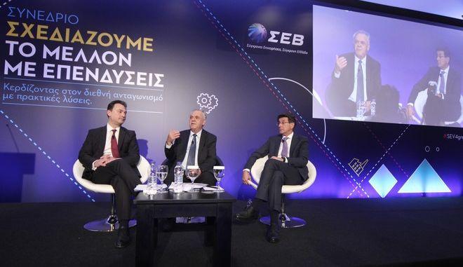 Ο υπουργός Οικονομίας και Ανάπτυξης και αντιπρόεδρος της κυβέρνησης, Γιάννης Δραγασάκης