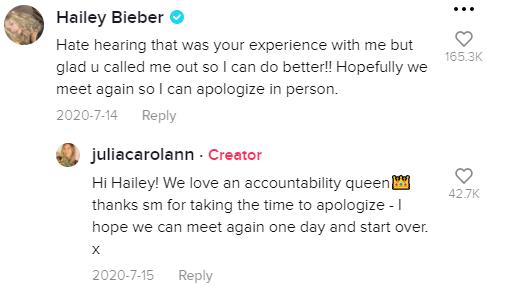 Hailey Bieber: Προσπαθεί να αλλάξει συμπεριφορά μετά από ένα viral βίντεο