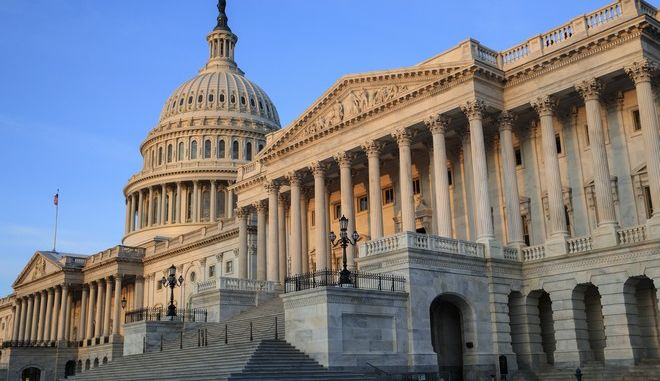 FILE - In this April 3, 2017, file photo, the Senate side of the Capitol is seen in Washington. Republicans in full control of government are on the brink of history-making changes to the nations health care system, but Obamacare is only half the story _ and many people may not realize that. (AP Photo/J. Scott Applewhite, File)