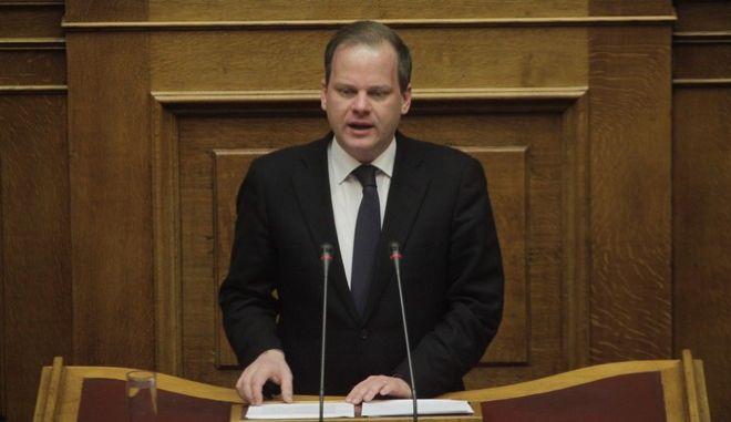 Συζήτηση για τον κρατικό προϋπολογισμό οικονομικού έτους 2017, στην Βουλή την Παρασκευή 9 Δεκεμβρίου 2016. (EUROKINISSI/ΠΑΝΑΓΙΩΤΗΣ ΣΤΟΛΗΣ)