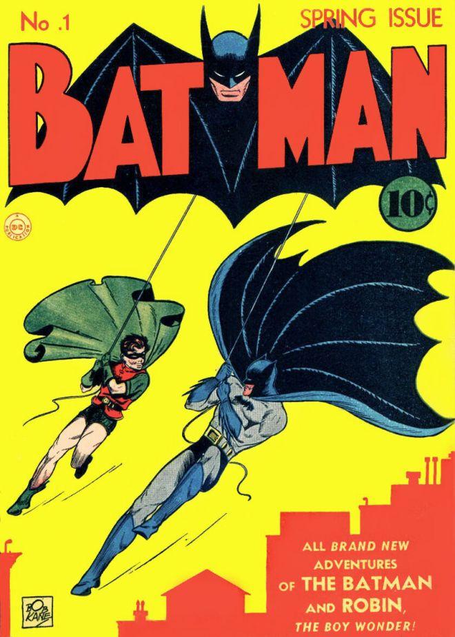 Το εξώφυλλο του Batman #1 (1940)