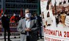 Ο Δημήτρης Κουτσούμπας σε συγκέντρωση του ΠΑΜΕ για την Πρωτομαγιά