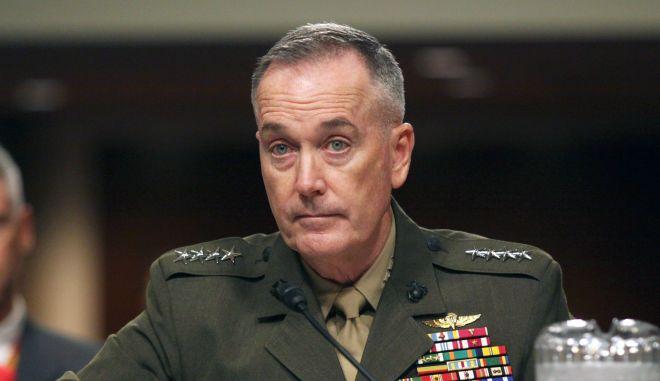Ο Αμερικανός Στρατηγός Τζόζεφ Ντάντφορντ