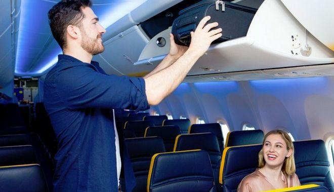 Ryanair: Η εναλλακτική που δίνει μετά το τέλος των δωρεάν αποσκευών