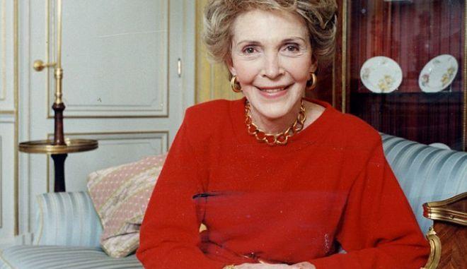 Πέθανε η τέως Πρώτη Κυρία των ΗΠΑ, Νάνσι Ρίγκαν
