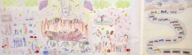 Σάλος με Τουρκοκύπρια ζωγράφο: Ο Μακάριος με γυμνόστηθες και η Κύπρος στις φλόγες