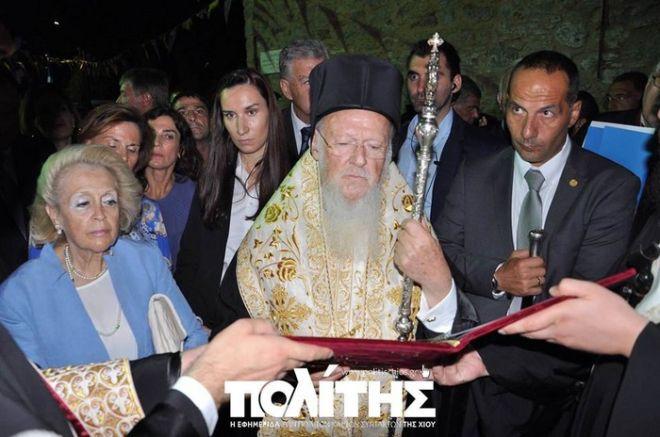 Βασιλική Θάνου στον Οικουμενικό Πατριάρχη: Η φιλοξενία των Ελλήνων, ήταν πάντοτε μέσα στο DNA τους