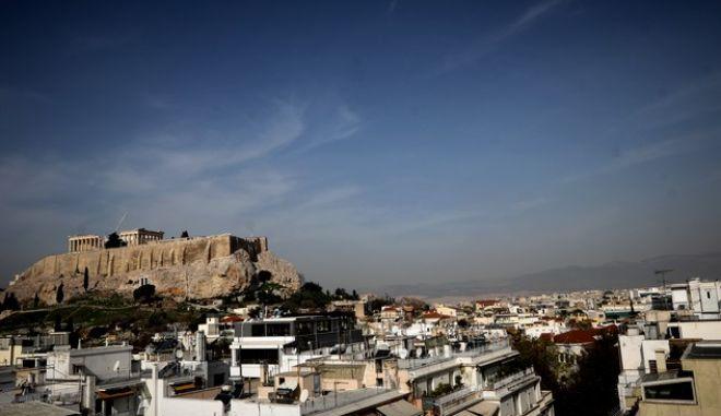 Αποψη από την Αθήνα