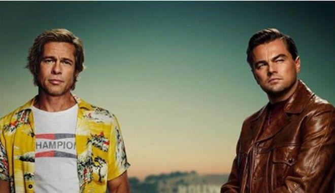 Πρώτη κινηματογραφική συνεργασία για Μπραντ Πιτ και Λεονάρντο Ντι Κάπριο
