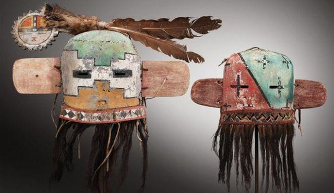 Δημοπρατούνται 70 μάσκες της φυλής των Αμερικανών Ινδιάνων Χόπι