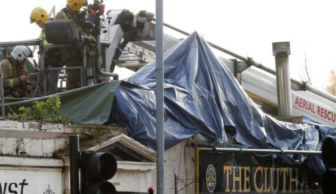Ολοκληρώθηκε η επιχείρηση διάσωσης στα συντρίμμια της παμπ στη Γλασκώβη