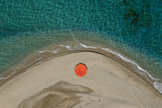 Παραλία Μεγάλη Άμμος, Μαρμάρι, Εύβοια