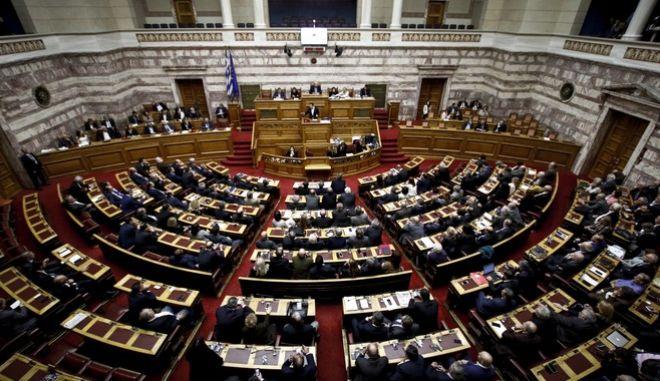 Η Ολομέλεια της Βουλής.