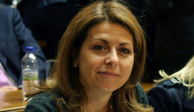 Στιγμιότυπο απο την συνεδρίαση της Κοινοβουλευτικής Ομάδας του ΠΑΣΟΚ.Στην φωτογραφία Μάγια Τσόκλη ,Τετάρτη 14 Οκτωβρίου 2009   (EUROKINISSI/ ΤΑΤΙΑΝΑ ΜΠΟΛΑΡΗ)