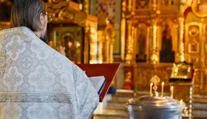 Ορθόδοξος ναός στη Μόσχα