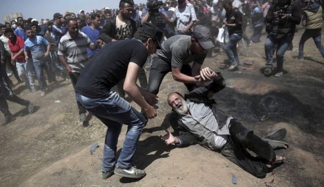 Αιματηρά επεισόδια στη Λωρίδα της Γάζας μετά την απόφαση Τραμπ να λειτουργήσει πρεσβεία των ΗΠΑ στην Ιερουσαλήμ