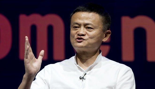 Ο ιδρυτής της Alibaba, Τζακ Μα σε σεμινάριο στο Μπαλί τον Οκτώβριο του 2018