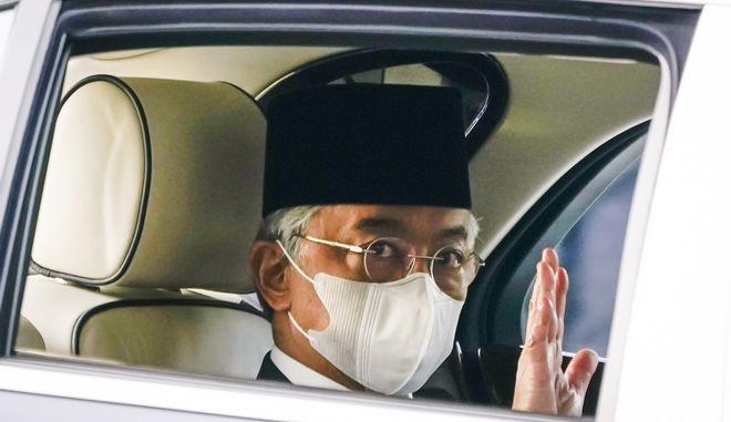 Ο βασιλιάς της Μαλαισίας Αμπντάλα Σα