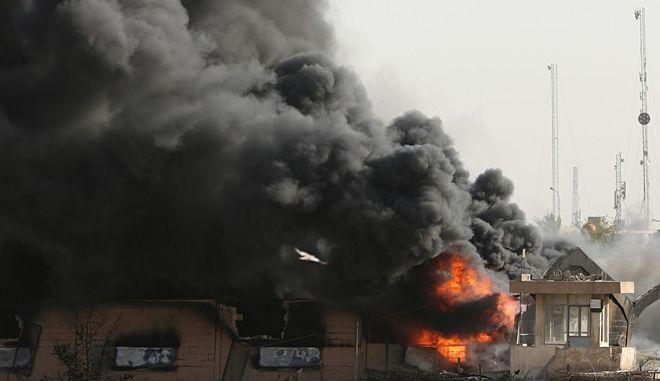 Φωτιά σε αποθήκη με κάλπες από τις βουλευτικές εκλογές