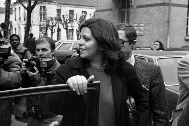 Η Χριστίνα Ωνάση στο Παρίσι το 1985.