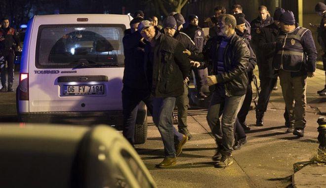 Άγκυρα: Ένοπλος επιχείρησε να εισβάλει στην πρεσβεία των ΗΠΑ