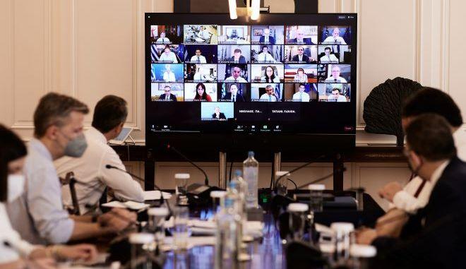 Συνεδρίαση του υπουργικού συμβουλίου Τετάρτη 23 Ιουνίου.