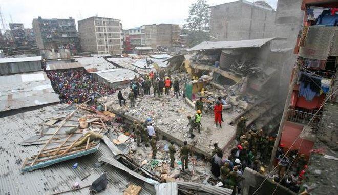 Κένυα: Κοριτσάκι 1 έτους ανασύρθηκε ζωντανό, 3 μέρες μετά την κατάρρευση κτιρίου