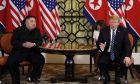 Ο Donald Trump και ο Κim Jong Un
