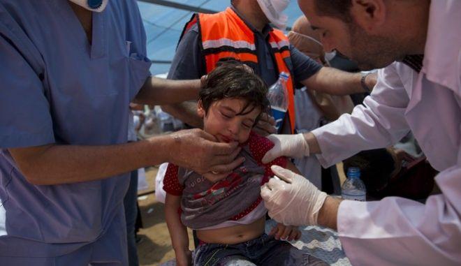 Ανάμεσα στους νεκρούς από τις συγκρούσεις στη Γάζα υπάρχουν και παιδιά