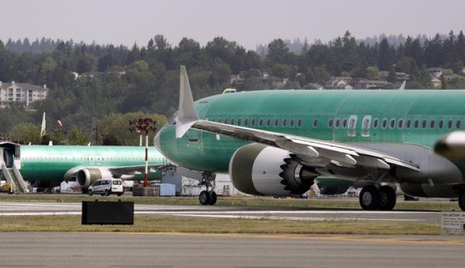 Αεροσκάφη Boeing 737 MAX 8 στην Ουάσινγκτον