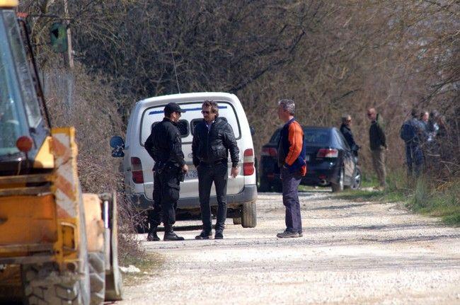 Φωτογραφίες από το σημείο που βρέθηκε το πτώμα του Βαγγέλη Γιακουμάκη